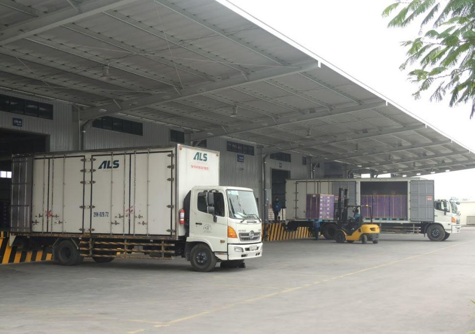xe tải 1,5 tấn chuyên chở hàng hóa ALS